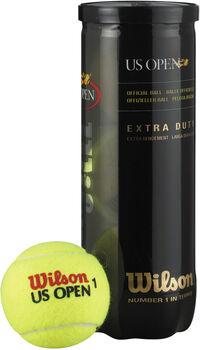 Wilson US Open 3-er Tennisbälle gelb