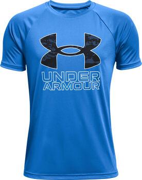Under Armour Tech Hybrid PRT Fill T-Shirt blau