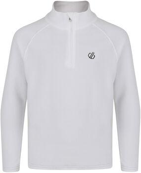 Dare 2b Freehand Fleece Langarmshirt mit Halfzip weiß