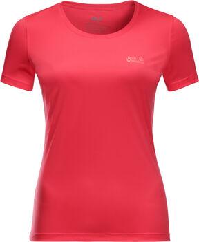 Jack Wolfskin Tech T-Shirt Damen rot