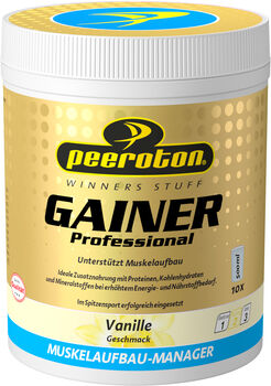 Peeroton Vanille Gainer Professional Shake  gelb