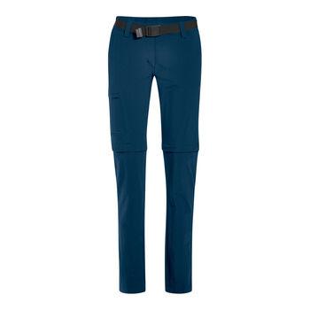 Maier Sports Wanderhose Inara Slim Zip Damen blau