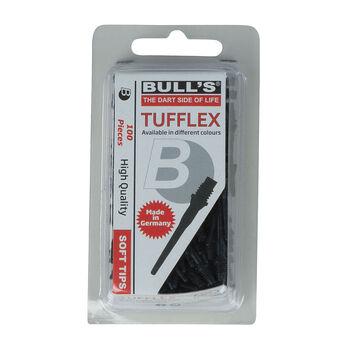 BULLS Tufflex Softtips Ersatzspitzen schwarz