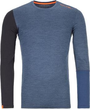 ORTOVOX 185 Rock'n'Wool Langarmshirt Herren blau