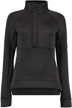 O'Neill  PW Formation FleeceDa. Sweater mit 1/2 Zipp Damen schwarz