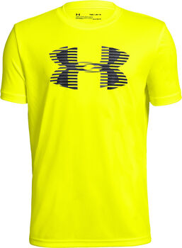 Under Armour TECH BIG LOGO T-Shirt Jungen gelb