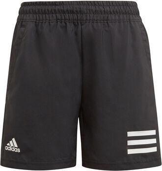 adidas Club 3-Streifen Tennisshorts schwarz