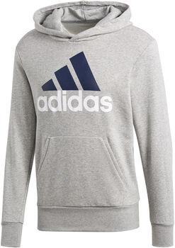 ADIDAS ESS Linear PO Hood Kapuzensweater Herren grau