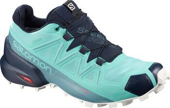 Salomon Speedcross 5 Traillaufschuhe Damen blau