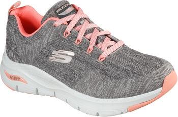 Skechers Arch Fit - Comfy Wave Fitnessschuhe Damen grau