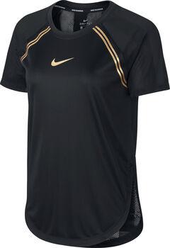 Nike Glam T-Shirt Damen schwarz