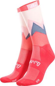LÖFFLER Style Laufsocken pink