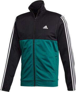 adidas Bac2Basics 3-Streifen Trainingsanzug Herren schwarz