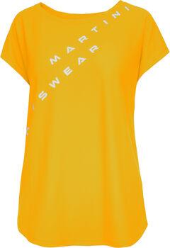 MARTINI Be.Different T-Shirt Damen gelb