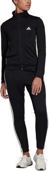 adidas Team Sport Trainingsanzug Damen schwarz