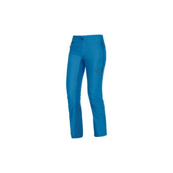 MAMMUT Botnica Softshell-Hose kurzgestellt Damen blau
