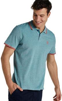 TOM TAILOR Two-Tone Tipping T-Shirt Herren grün