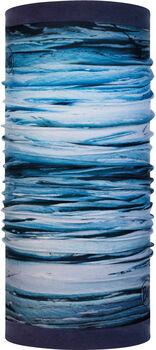 Buff Reversible Polar Multifunktionstuch blau
