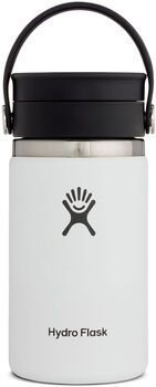 Hydro Flask Wide Mouth Isolierflasche weiß