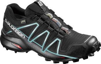 Salomon Speedcross 4 GORETEX Laufschuhe Damen schwarz
