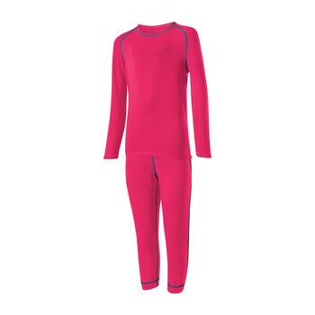 LÖFFLER 3/4 Unterwäschenset TRANSTEX® WARM pink