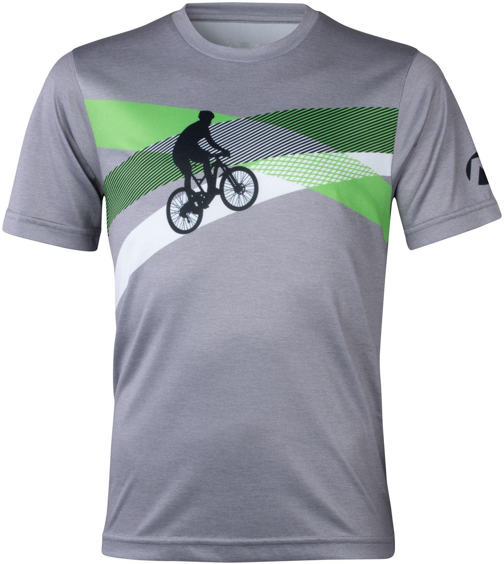 Nakamura Damen-Radsport-Bike-Fahrrad-Trikot Depressa schwarz-grau 4035556 001