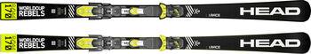 Head Worldcup Rebels i.Race RP Evo Ski ohne Bindung gelb