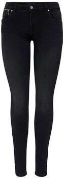 ONLY Onlisa4 Life Skinny Jeans Damen schwarz
