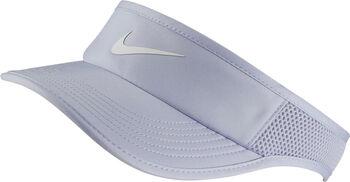 Nike Court AeroBill Featherlight Visor Damen lila