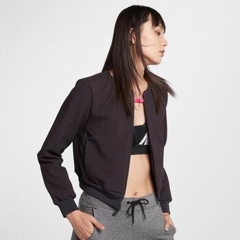 Nike Nsw Tch Pck Jacke Fullzip Damen grau