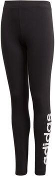 adidas Essentials Linear Tights Mädchen schwarz