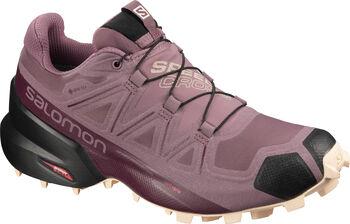 Salomon Speedcross 5 GTX Traillaufschuhe Damen grau