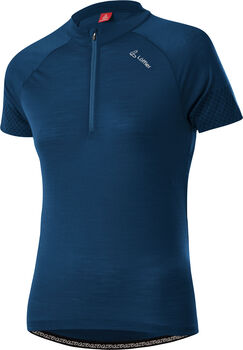 LÖFFLER Merino-Tencel T-Shirt Damen blau