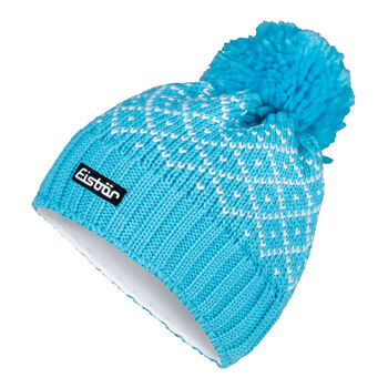 Eisbär Dilara Mütze Damen blau