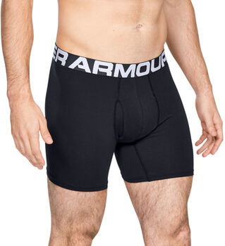 Under Armour Charged Cotton Boxershorts schwarz