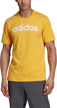 ADIDAS E Linear T-Shirt Herren gelb