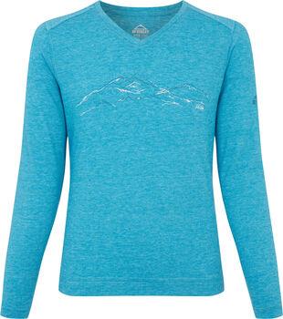 McKINLEY Bukka Langarmshirt Mädchen blau