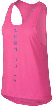 Nike Miler Laufshirt Damen pink