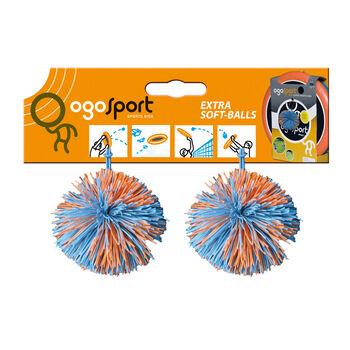 OgoSport 2er Pack Ersatzbälle weiß
