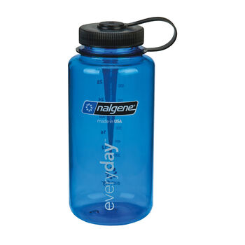 Nalgene Wide Mouth 1l Trinkflasche blau