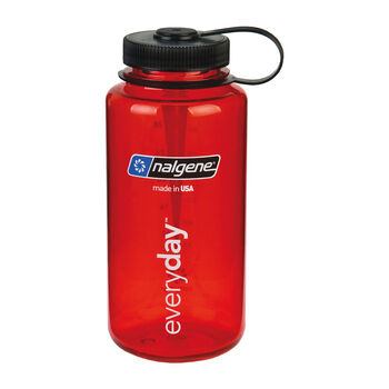 Nalgene Wide Mouth Trinkflasche rot