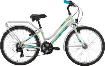 "GENESIS Zeta City 24 Fahrrad 24"" weiß"