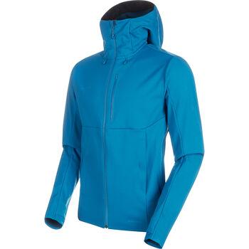 MAMMUT Ultimate V Softshell Jacke Herren blau
