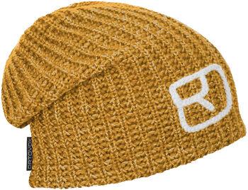 ORTOVOX Melange Mütze gelb