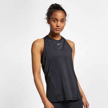 Nike Pro All Over Tanktop Damen schwarz