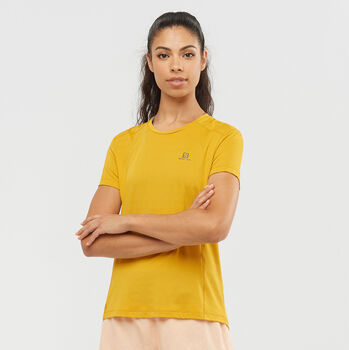 Salomon X Alps T-Shirt  Damen gelb