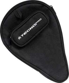 TECNOPRO Tischtennis-Schlägerhülle schwarz