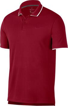 Nike Court Dri-FIT -Tennis-Poloshirt Herren rot