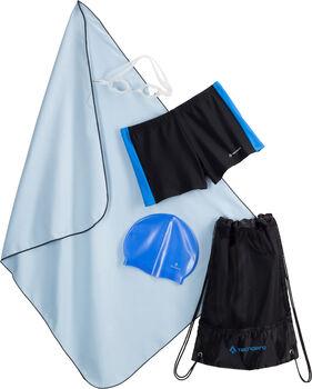TECNOPRO Schwimmset Jungen schwarz