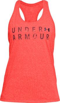 Under Armour TBorne Train Top Damen orange